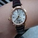 台中流當品拍賣 流當手錶 原裝 AP MILLENARY 千禧 18K玫瑰金 自動 女錶 9成新 ZR081